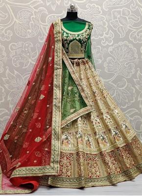 Majesty Silk Lehenga Choli