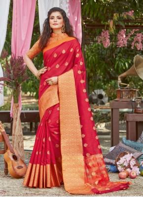 Majesty Silk Woven Traditional Designer Saree