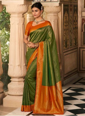 Marvelous Designer Traditional Saree For Ceremonial