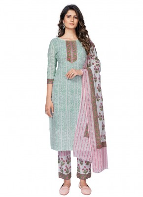 Marvelous Printed Festival Readymade Suit