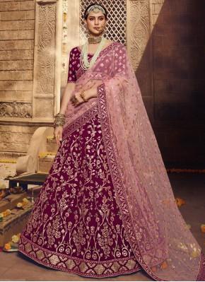 Masterly Zari Georgette Designer Lehenga Choli
