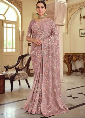 Mauve  Color Bollywood Saree