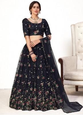 Mesmeric Net Sangeet Lehenga Choli