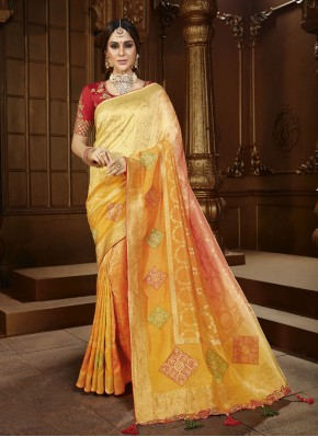 Mesmerizing Traditional Saree For Wedding