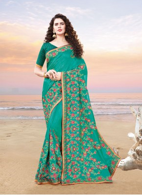 Miraculous Resham Silk Designer Traditional Saree