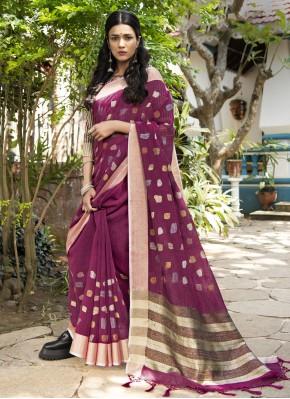 Modern Woven Designer Traditional Saree