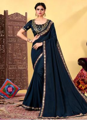 Modest Classic Designer Saree For Festival