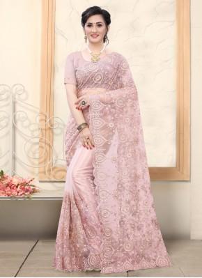 Modest Net Resham Classic Designer Saree