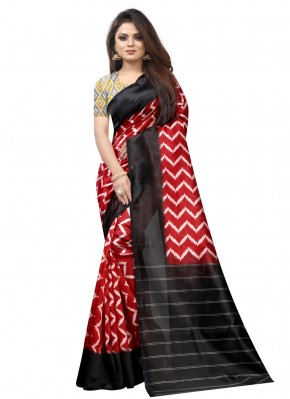 Modest Raw Silk Traditional Saree
