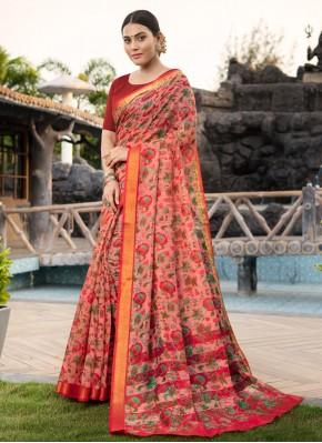 Multi Colour Casual Cotton Silk Traditional Saree