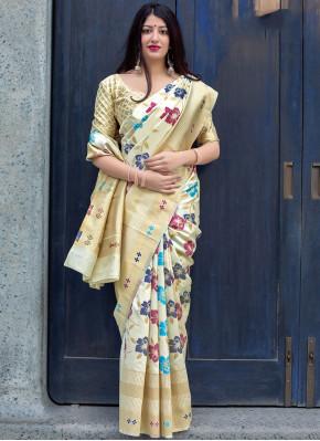 Multi Colour Color Traditional Saree