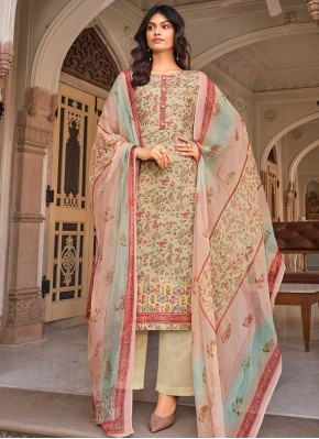 Multi Colour Festival Designer Palazzo Suit