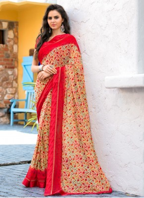 Multi Colour Weight Less Casual Casual Saree