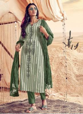 Mystic Resham Polly Cotton Salwar Kameez