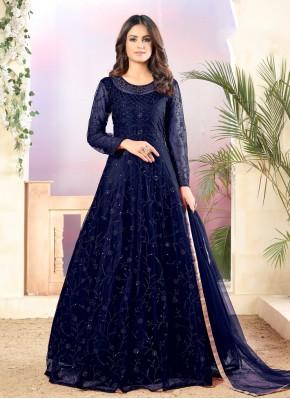 Mystical Floor Length Anarkali Salwar Suit For Ceremonial
