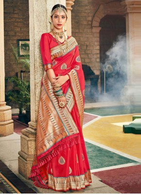 Mystical Silk Mehndi Designer Traditional Saree