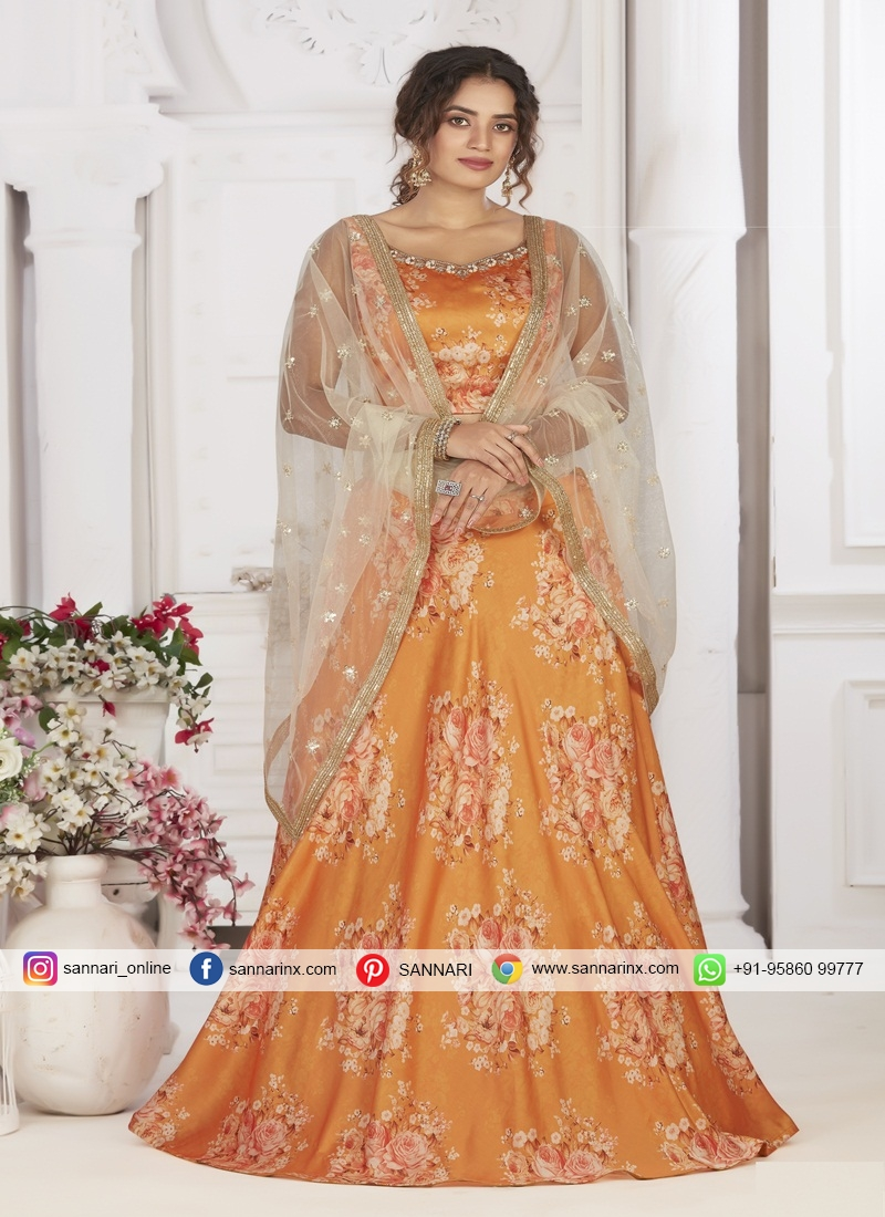 Net Readymade Chaniya Choli for Party