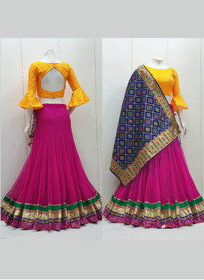 Net Readymade Lehenga Choli