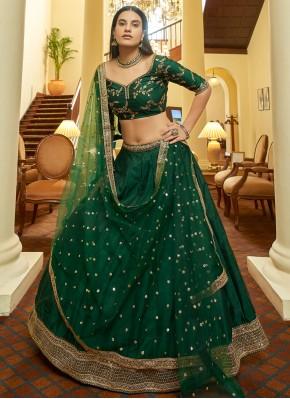 Nice Sequins Art Silk Bollywood Lehenga Choli