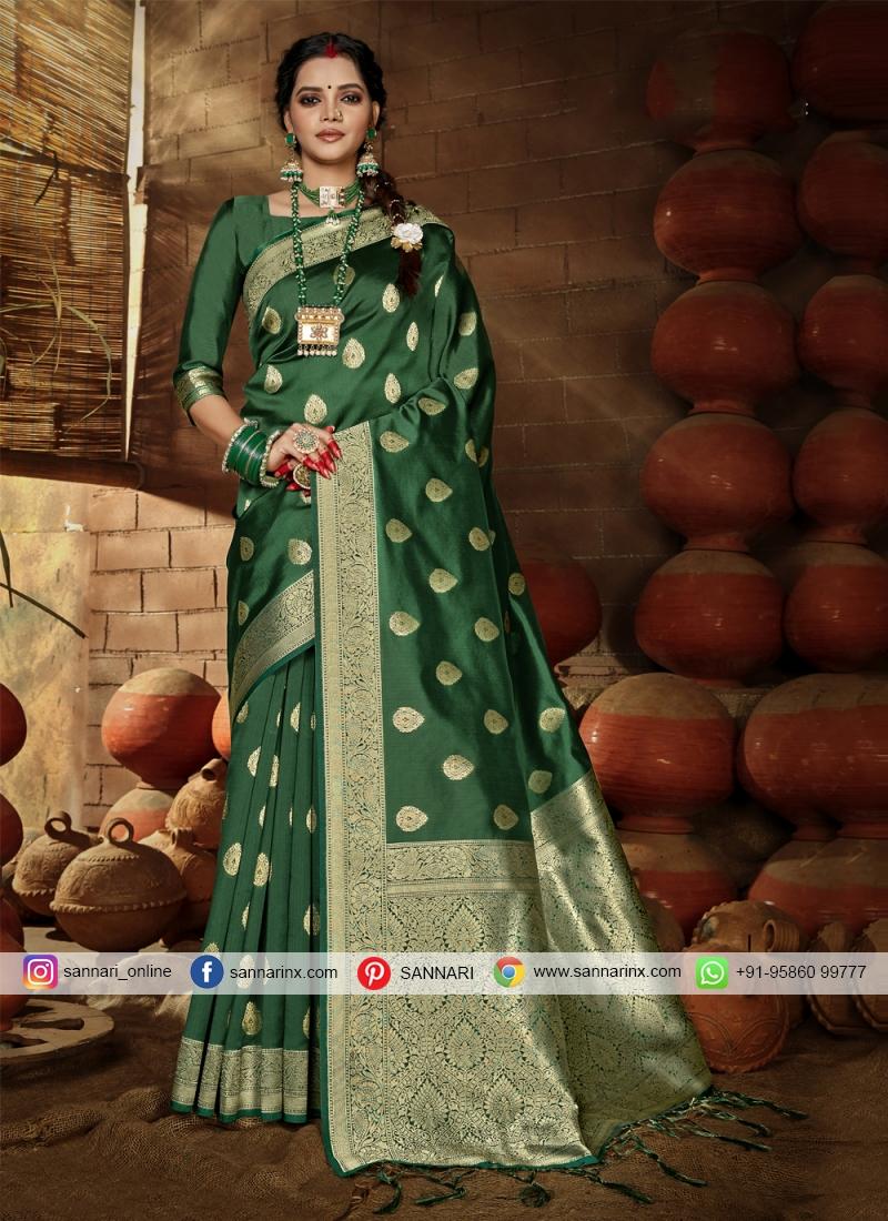 Noble Banarasi Silk Traditional Designer Saree