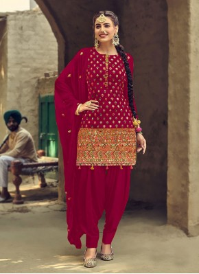 Noble Rani Embroidered Patiala Salwar Suit