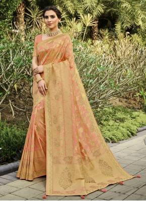 Noble Silk Weaving Traditional Saree