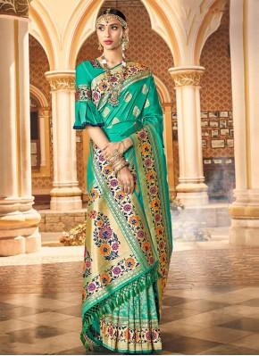 Noble Weaving Sangeet Traditional Saree