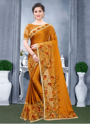Observable Traditional Designer Saree For Mehndi