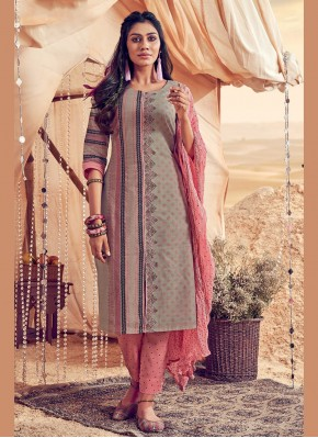 Opulent Embroidered Festival Salwar Suit
