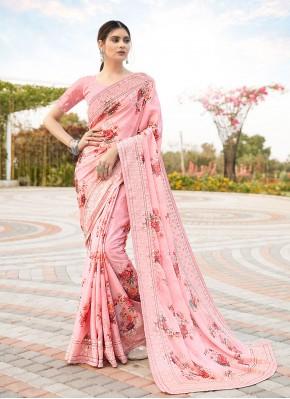 Opulent Satin Wedding Classic Saree