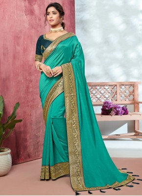Orphic Embroidered Bollywood Saree