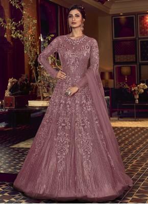 Outstanding Embroidered Sangeet Floor Length Anarkali Salwar Suit