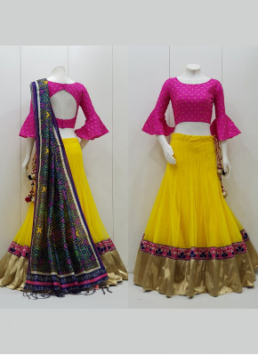Outstanding Net Readymade Lehenga Choli