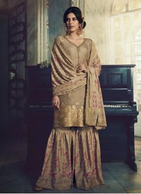 Paramount Jacquard Silk Designer Pakistani Suit