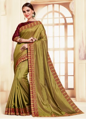 Peppy Embroidered Classic Saree
