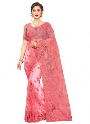 Peppy Resham Net Classic Designer Saree