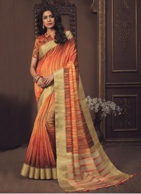 Peppy Silk Ceremonial Shaded Saree