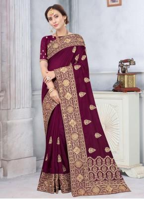 Perfect Silk Stone Traditional Saree