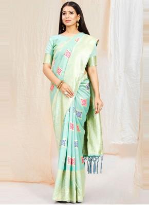 Phenomenal Art Silk Festival Traditional Saree