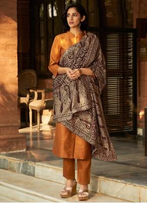 Picturesque Banglori Silk Festival Pant Style Suit
