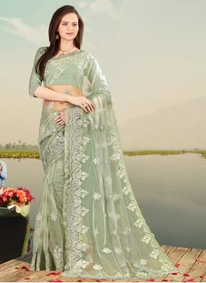 Picturesque Net Designer Saree