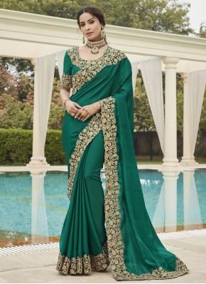 Picturesque Silk Ceremonial Traditional Saree