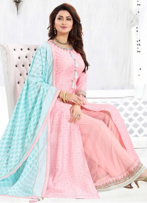 Pink Sangeet Readymade Suit