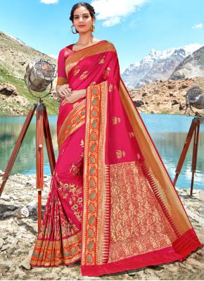 Pink Wedding Classic Designer Saree