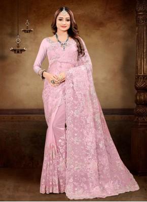 Piquant Embroidered Ceremonial Classic Designer Saree