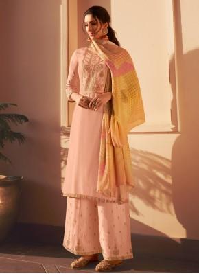 Piquant Embroidered Designer Pakistani Suit