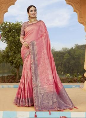Piquant Embroidered Silk Classic Designer Saree
