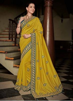 Piquant Silk Party Contemporary Saree