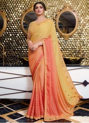 Prachi Desai Vichitra Silk Shaded Saree