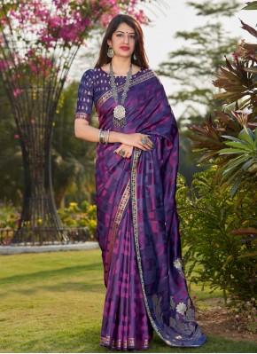 Praiseworthy Banarasi Silk Traditional Saree